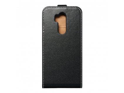 Forcell pouzdro Slim Flip Flexi FRESH LG G7 černé