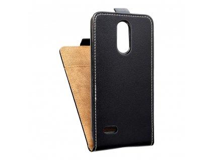 Forcell pouzdro Slim Flip Flexi FRESH LG K9 (K8 2018) černé