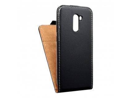 Forcell pouzdro Slim Flip Flexi FRESH Xiaomi Pocophone F1 černé