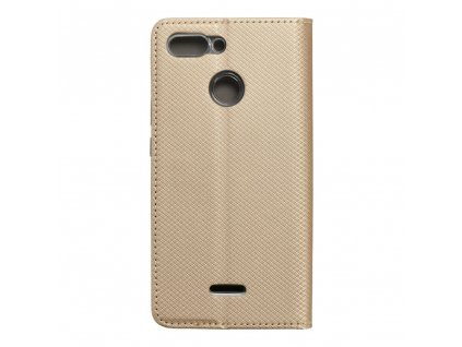 Pouzdro Forcell Smart Case Xiaomi Redmi 6 zlaté