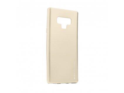 Pouzdro i-Jelly MERCURY/GOOSPERY Samsung Galaxy NOTE 9 zlaté