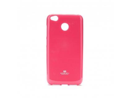 Pouzdro Goospery Mercury Jelly - Xiaomi Redmi 4X růžové