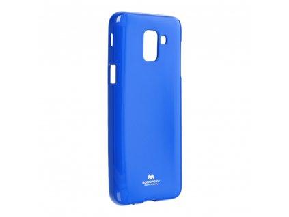 Pouzdro Goospery Mercury Jelly Samsung Galaxy J6 2018 modré