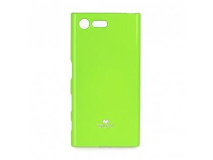 Pouzdro Goospery Mercury Jelly - Huawei P Smart limonka
