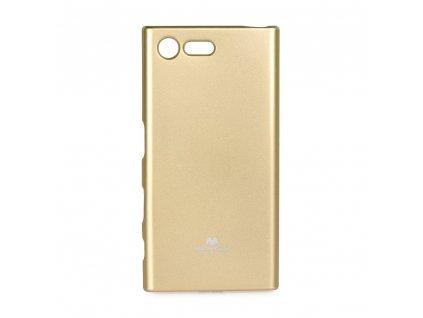 Pouzdro Goospery Mercury Jelly - Huawei P Smart zlaté