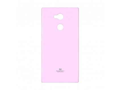 Pouzdro Goospery Mercury Jelly - Sony XPERIA XA2  světle růžové