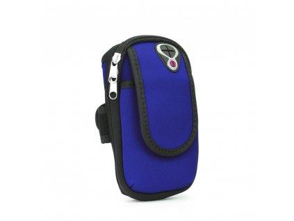 Sportovní pouzdro/ kapsa na ruku - modré