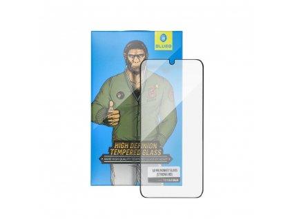 """Tvrzené sklo 5D Mr. Monkey Glass Apple Iphone XS Max 6,5"""" černé (Strong HD)"""
