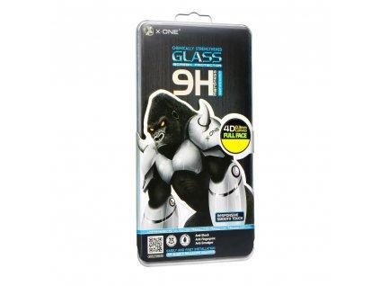 Ochranné tvrzené sklo X-ONE 4D - Samsung (SM-935) Galaxy S7 EDGE (case friendly) černé