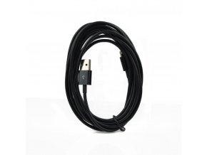 Forcell OEM Datový kabel pro Apple iPhone 5/5C/5S/6/6+ Černý Lightning - 3 metry (kompatibilní s iOS8.4)