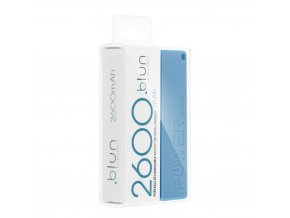 perfume zalozni baterie power bank 2200mah 1a modry 2 w1200 cfff