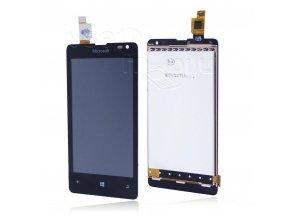 LCD displej Nokia Lumia 435 Dotyková plocha - černá