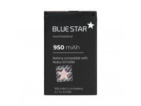 baterie blue star nokia 5310 xpress music 6600f 7210s 7310s bl 4ct 950mah bs premium w1200 cfff