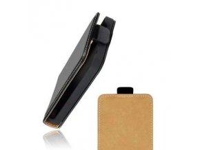 Pouzdro Forcell Slim Flip HTC Sensation XL - černé