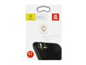 Sklíčko zadní kamery iPhone 7 vč. kroužku - zlatá