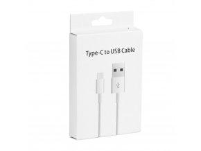 Kabel microUSB - Typ C 3.1 / USB 3.0 [Class II] bílý