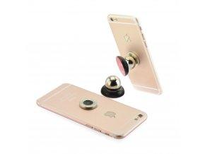 Magnetický univerzální držák mobilu do auta - černý
