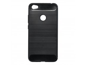 Pouzdro Forcell Carbon back cover pro Xiaomi Redmi Note 5A - černé