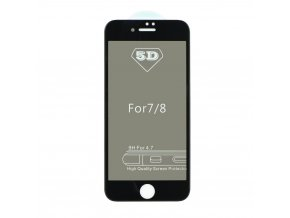 "Forcell 5D Full Glue tvrzené sklo - Apple iPhone 7/8 4,7"" Privacy - černé"