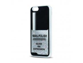 Forcell pouzdro TPU Nail pro Huawei P9 Lite - stříbrné