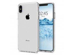 Forcell pouzdro Back Ultra Slim 0,5mm pro Apple iPhone X - transparentní