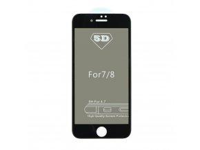 Forcell 5D Full Glue tvrzené sklo - Apple iPhone X Privacy - černé