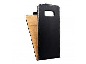 Forcell pouzdro Slim Flip Flexi FRESH pro Samsung G950 Galaxy S8 - černé