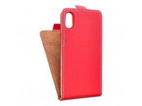 Forcell pouzdro Slim Flip Flexi FRESH pro Apple iPhone 8 - červené