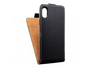 Forcell pouzdro Slim Flip Flexi FRESH pro Apple iPhone 8 - černé