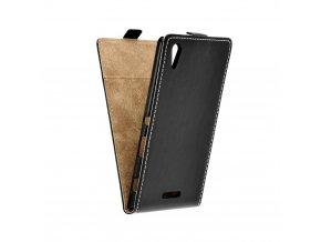 Forcell pouzdro Slim Flip Flexi Fresh pro Sony Xperia T3, D5103 černé
