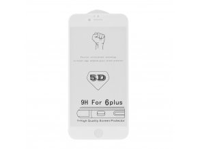 "Tvrzené sklo 5D Roar Glass Apple Iphone 7 / 8 4,7"" bílé"