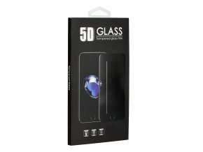 Forcell Tvrzené sklo 3D Full Glue Glass - Apple Iphone 8 Transparent
