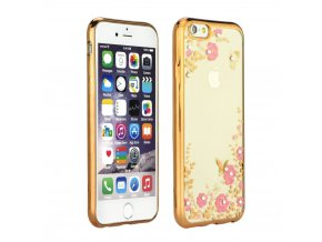 Pouzdro Forcell DIAMOND case Apple Iphone X zlaté