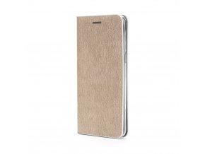 Pouzdro Forcell Luna Book Samsung Galaxy S7 Edge (G935) zlaté