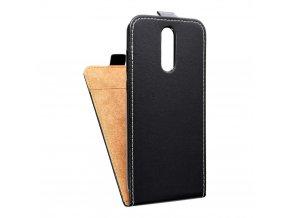 Forcell pouzdro Slim Flip Flexi FRESH pro Huawei Mate 10 Lite černé