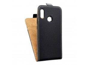 Forcell pouzdro Slim Flip Flexi FRESH pro Huawei P20 Lite černé