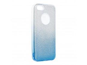 Pouzdro Forcell SHINING Apple Iphone 5/5S/SE transparentní/modré