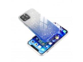 Pouzdro Forcell SHINING Apple Iphone 7 / 8 transparentní/modré