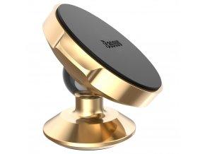 Univerzální magnetický držák mobilu do auta BASEUS Small Ears - zlatý