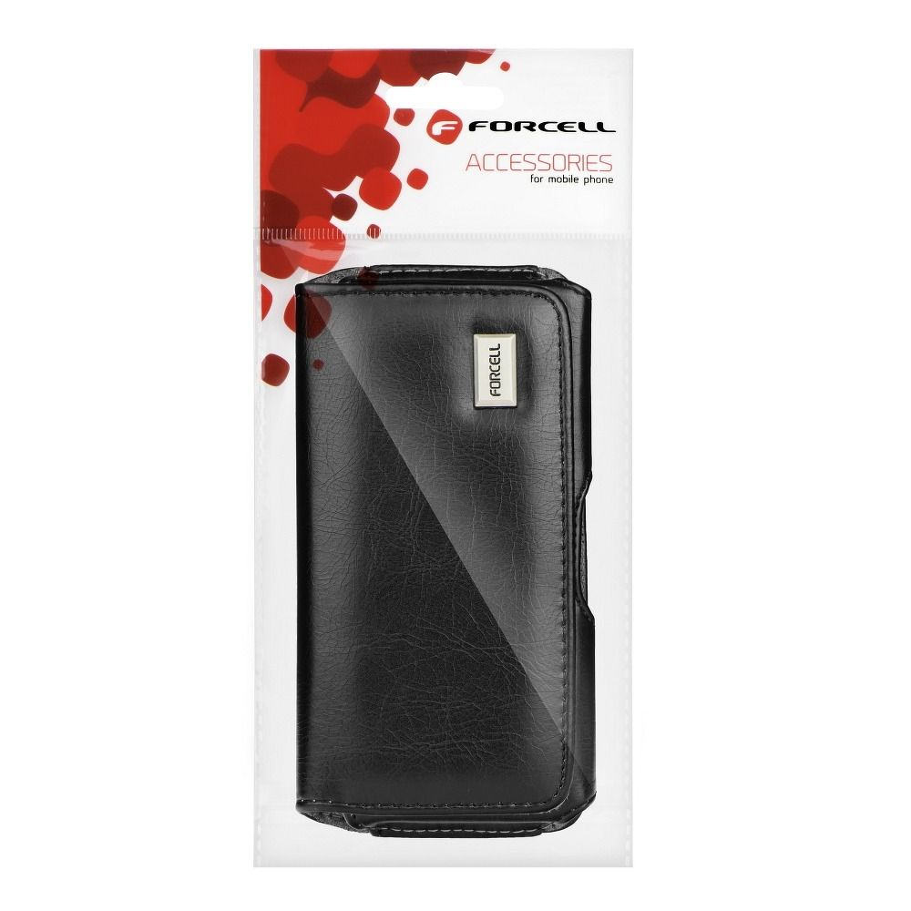 FORCELL Pouzdro CLASSIC 100A - Model 1 Samsung Galaxy A3, S3, S4, iPhone 6,7,8) - černé)