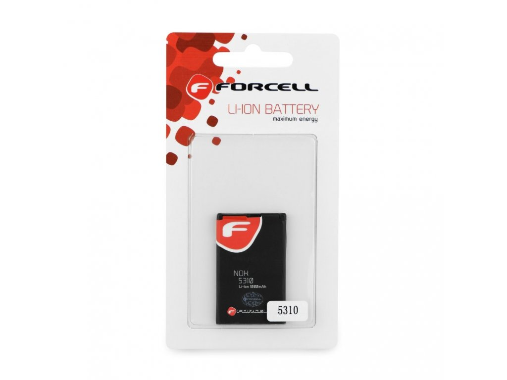 715 1 baterie forcell maximum energy pro nokia 5310 xpress music 7210s 7310s 1000 mah li ion hq