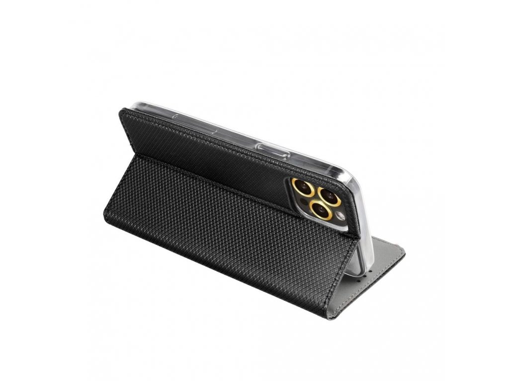21367 2 pouzdro magnet flip wallet book pro apple iphone 6 cerne