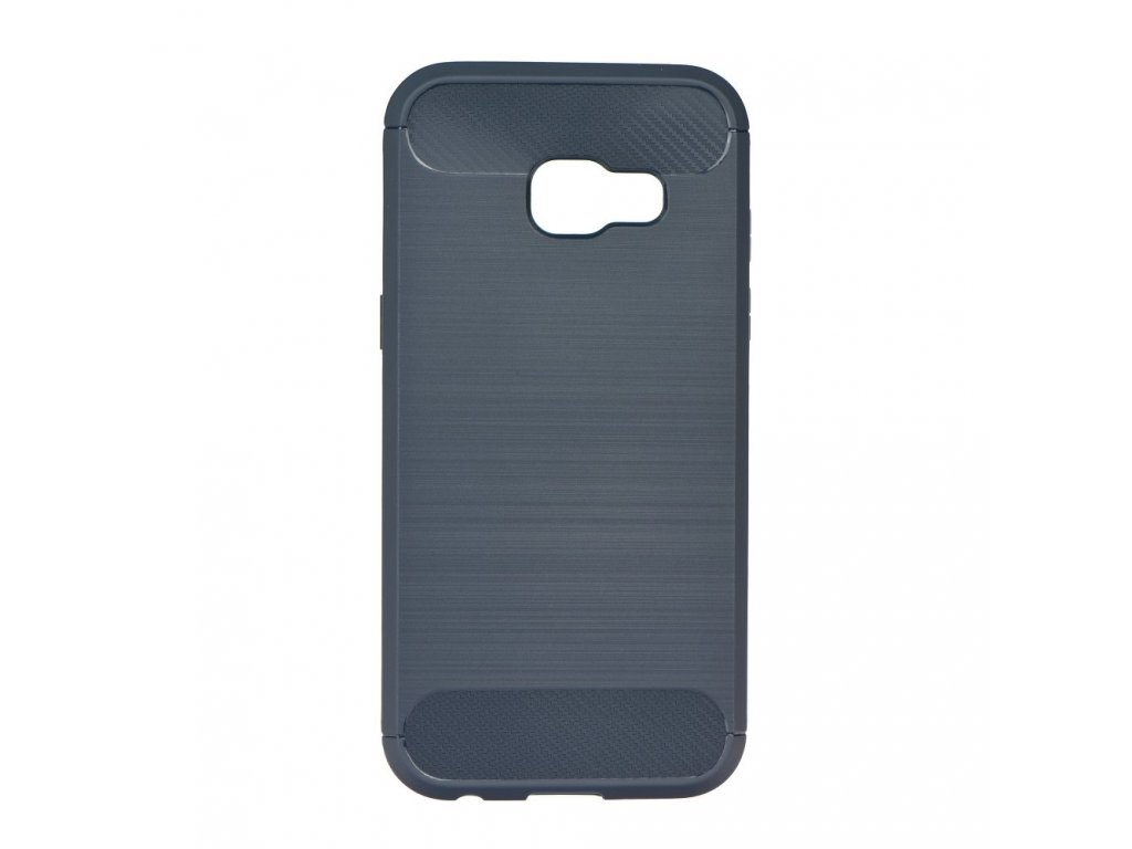 70599 1 pouzdro forcell carbon back cover pro samsung a320 galaxy a3 2017 modre