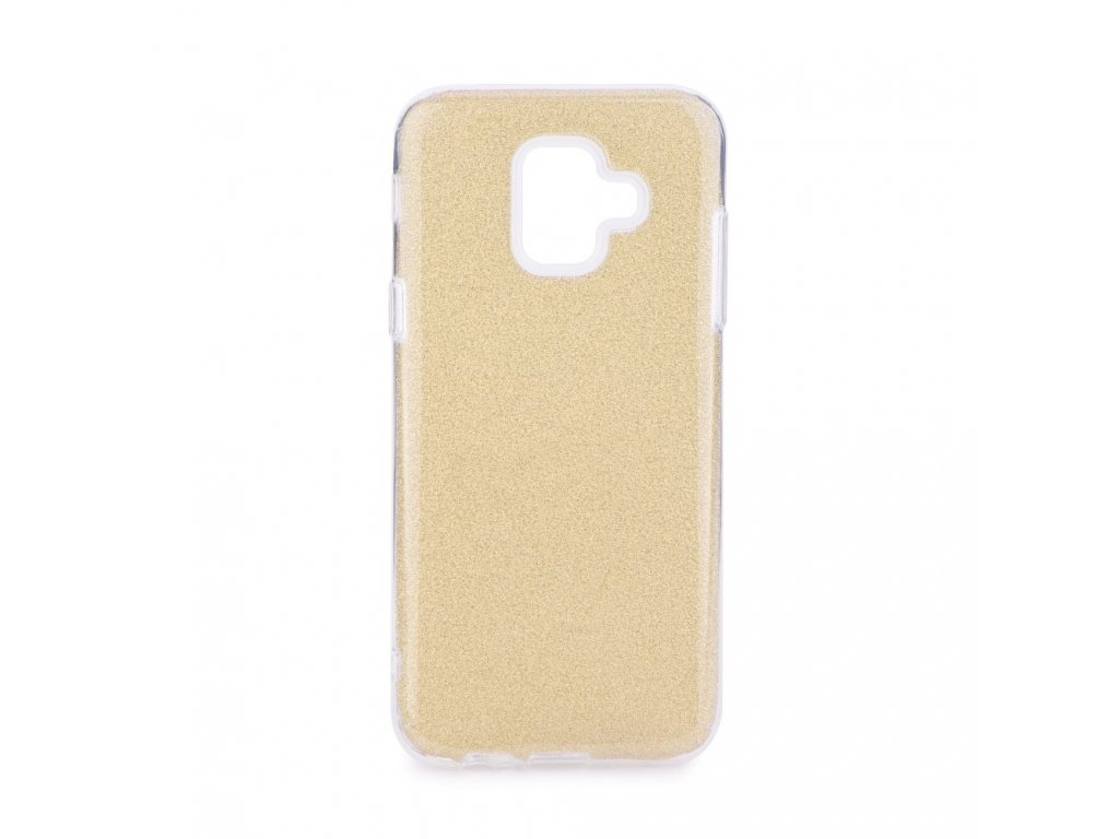 89094 pouzdro forcell shining samsung galaxy a6 2018 zlate