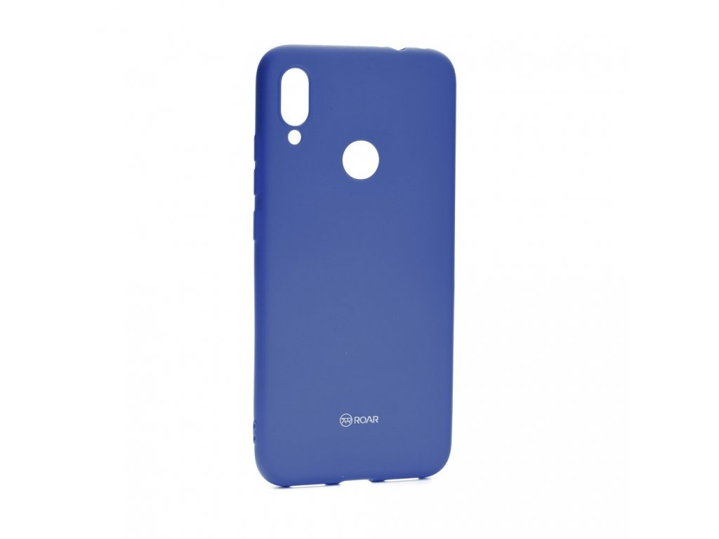 119945 pouzdro roar colorful jelly case xiaomi redmi note 7 note 7 pro navy blue