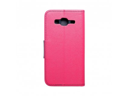 36249 fancy pouzdro book samsung j320 galaxy j3 2016 modro ruzove