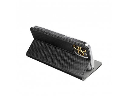 64302 pouzdro smart case book lg k10 2017 cerne