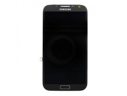 83777 lcd display dotyk samsung n7105 lte note2 grey originalni