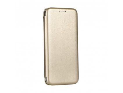 92118 pouzdro forcell book elegance huawei y6 2018 zlate