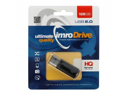 107750 usb flash disk pendrive imro 128gb blister cerny